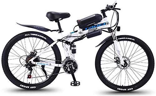 Alta velocidad Bicicletas eléctricas for adultos, 26 '' plegable de MTB Ebikes...