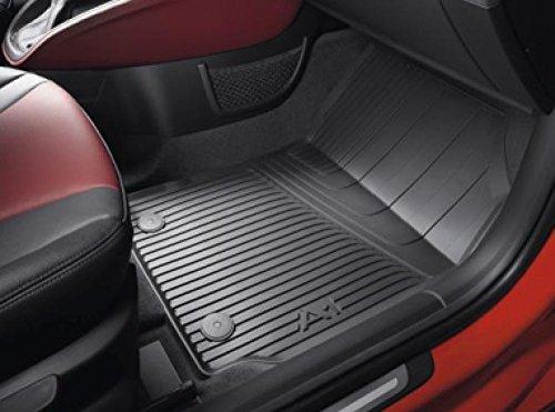Audi A1 S1 Gummi Fußmatten 4-teilig schwarz Original Zubehör Allwettermatten