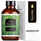 SALKING Aceite Esencial de Romero 120ml,100% Puro y Natural Aceites Esenciales para Humidificador,Aceites Esenciales Naturales Aceite Perfumado de Romero, Regalos Originales para Mujer