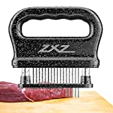 Meat Tenderizer, 48 Stainless Steel Sharp Needle Blade, with Cleaning Brush, Heavy Duty Cooking Tool for Tenderizing Beef, Turkey, Chicken, Steak, Veal, Pork, Fish, Christmas Cooking Set