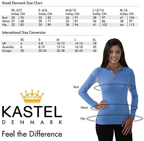 Kastel Denmark Long Sleeve Medium Weight Sun Shirt