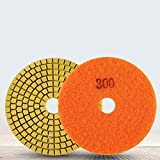 Muela abrasiva, 100Mm 4'Fuerza de esmerilado fuerte y suavidad Almohadilla de pulido para discos de...