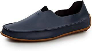 Men Fashion PU Loafers Leather Casual Shoes Large Size EU 39-47 Slip-on Man Flat Driving Shoes