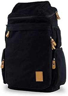 Men women Fashion Big backpack Canvas Leisure Travel Bag computer bag School[Moy-B13]