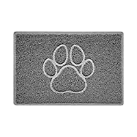 【DESIGN & MADE in the UK】High Frequency Embossed Shape (NOT print) - colour will NOT Fade or Wear Off, Functional and Durable. We can make other Sizes, Designs, Colours and custom LOGO mat. Easy to Clean - Shake or wash off with a hose. NOT Shed or R...