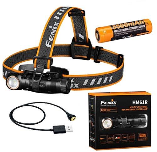 Fenix HM61R - Linterna frontal LED (1200 lúmenes)