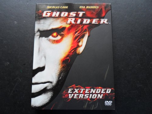 Ghost Rider extended version 2 DVD + iactivecard (Nicolas Cage)