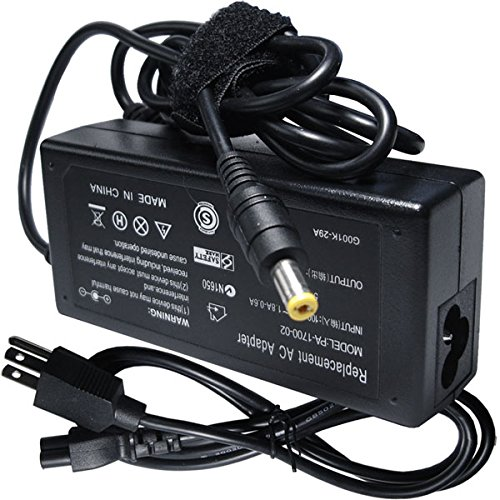 19v 65w Laptop Ac Adapter Charger Power Cord Supply for Gateway MS2266 MS2273 MS2274 MS2285 MS2291 MS2300 MS2288