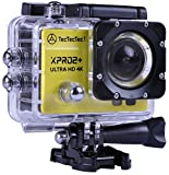 TecTecTec Fotocamera Sportiva, action cam XPRO2 + Ultra HD 4K, Wi-Fi, impermeabile