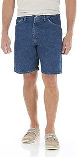 Wrangler Men's 5 Pocket Denim Shorts (30, Dark Stone)