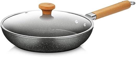 WYAN Cacerola Antiadherente Cacerola pequeña sartén Cacerola con Tapa de Seguridad sartén sartén sartén Pan (Size : 28CM)