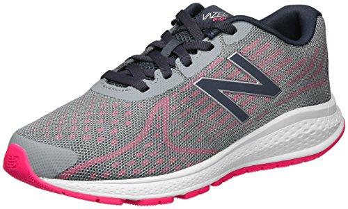 New Balance New Balance Unisex-Kinder Vazee Rush v2 Sneakers, Mehrfarbig (Grey/pink), 38 EU