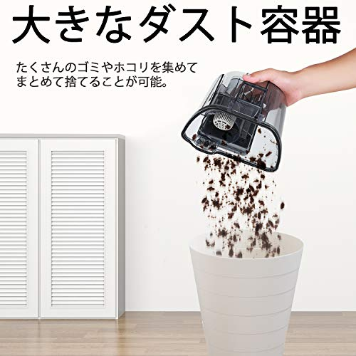 モーソー キャニスター掃除機 サイクロン式 5mコード付き コンパクト収納 小型 軽量 お手入れ簡単 家庭用 MOOSOO MS161