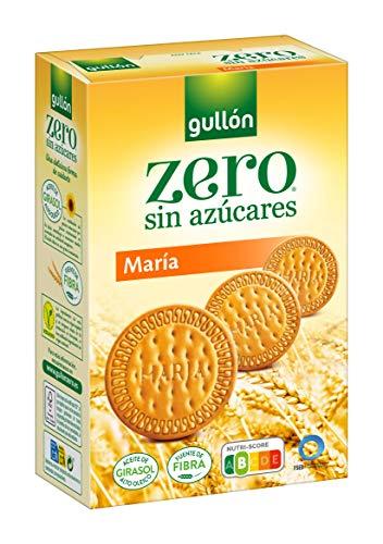 Gullón Galleta María ZERO sin azúcares, 400 Gramos