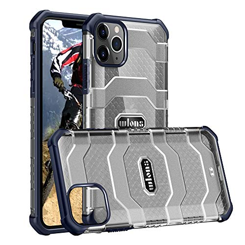 JIAFEI Phone Case for iPhone 12 Pro Max, Military-grade airbag anti-fall protective case, Compatible iPhone 12 Pro Max, Navy blue