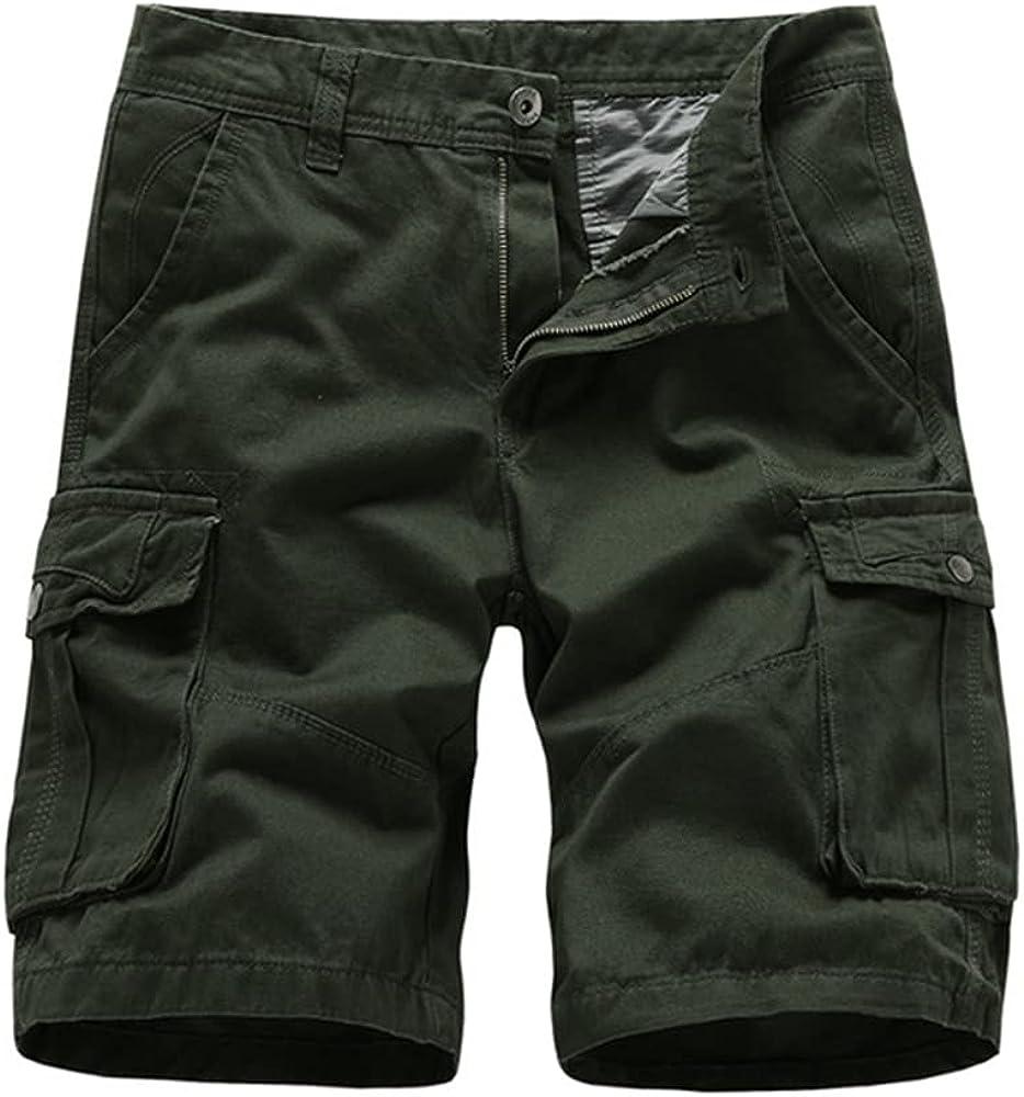 NP Men's Shorts Casual Color Shorts Loose Beach Pants Men
