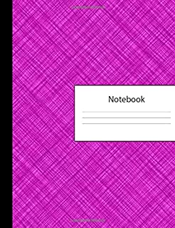 Notebook: 300 Page Pitman Shorthand Ruled Lined Steno Crosshatch Purple Composition Shorthand Writing Pad & Teeline Journal | Lists Office Meeting ... Organizer for College University | Notepad