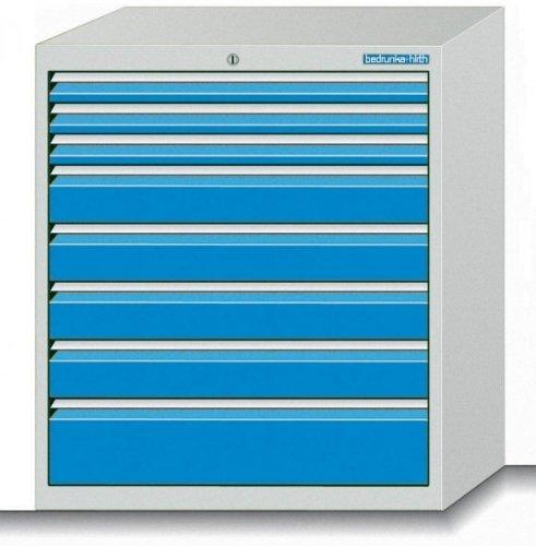 Schubladenschrank Serie 500 mit 8 Schubladen verschiedene BLH Schubladenschränke Breite 500