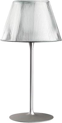 LAMPE DE TABLE ROMEO MOON VERSION TABLE 1 150W VERRE 50x50x66.5cm TRANSPARENT F6107000