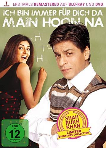 Ich bin immer für dich da – Main Hoon Na (Shah Rukh Khan Signature Collection)  (limitiert)  (+ DVD) [Blu-ray]
