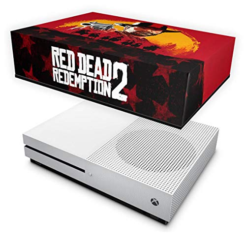 Capa Anti Poeira para Xbox One S Slim - Red Dead Redemption 2