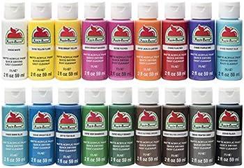 18-Pack Apple Barrel PROMOABI Acrylic Paint Set