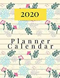 2020 Planner Calendar: 2020 One Year Planner, 12 Months Calendar, Year Appointment Calendar, Business Planners, Agenda Schedule Organizer Logbook and ... golden black cover   (2020 Monthly planner)