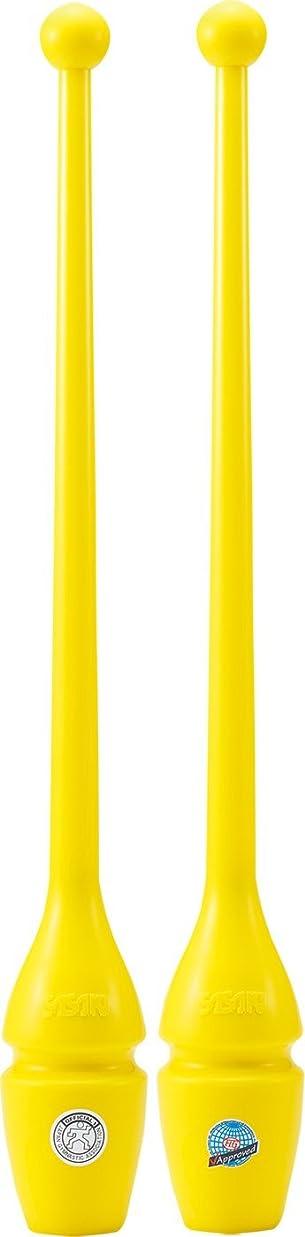 ゆり腹部偽物ササキ(SASAKI) 新体操 手具 クラブ 国際体操連盟認定品 日本体操協会検定品 ラバークラブ(ショート) 長さ40.5cm M-34JKH-F