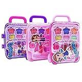 Princesa de maquillaje belleza juguete de juguete en un maletín niña niños rollo parte maletín de juguete niña Safe No Tóxico juguete regalo de cumpleaños