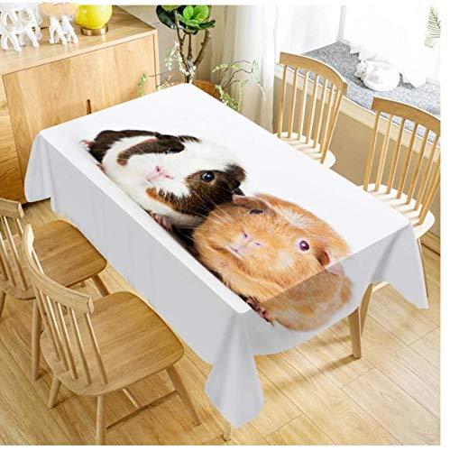 JDCFAS 1 paar tafelkleden van Holland-vacht, eenvoudig, duurzaam en wasbaar, van polyester