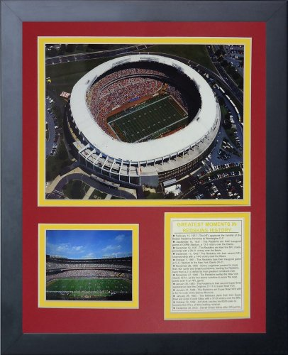 """RFK Stadium 11"""" x 14"""" Framed Photo Collage by Legends Never Die, Inc."""