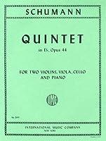 シューマン: ピアノ五重奏曲 変ホ長調 Op.44/インターナショナル・ミュージック社/演奏用パート譜セット
