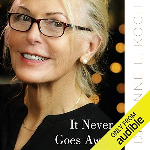 It Never Goes Away audiobook cover art