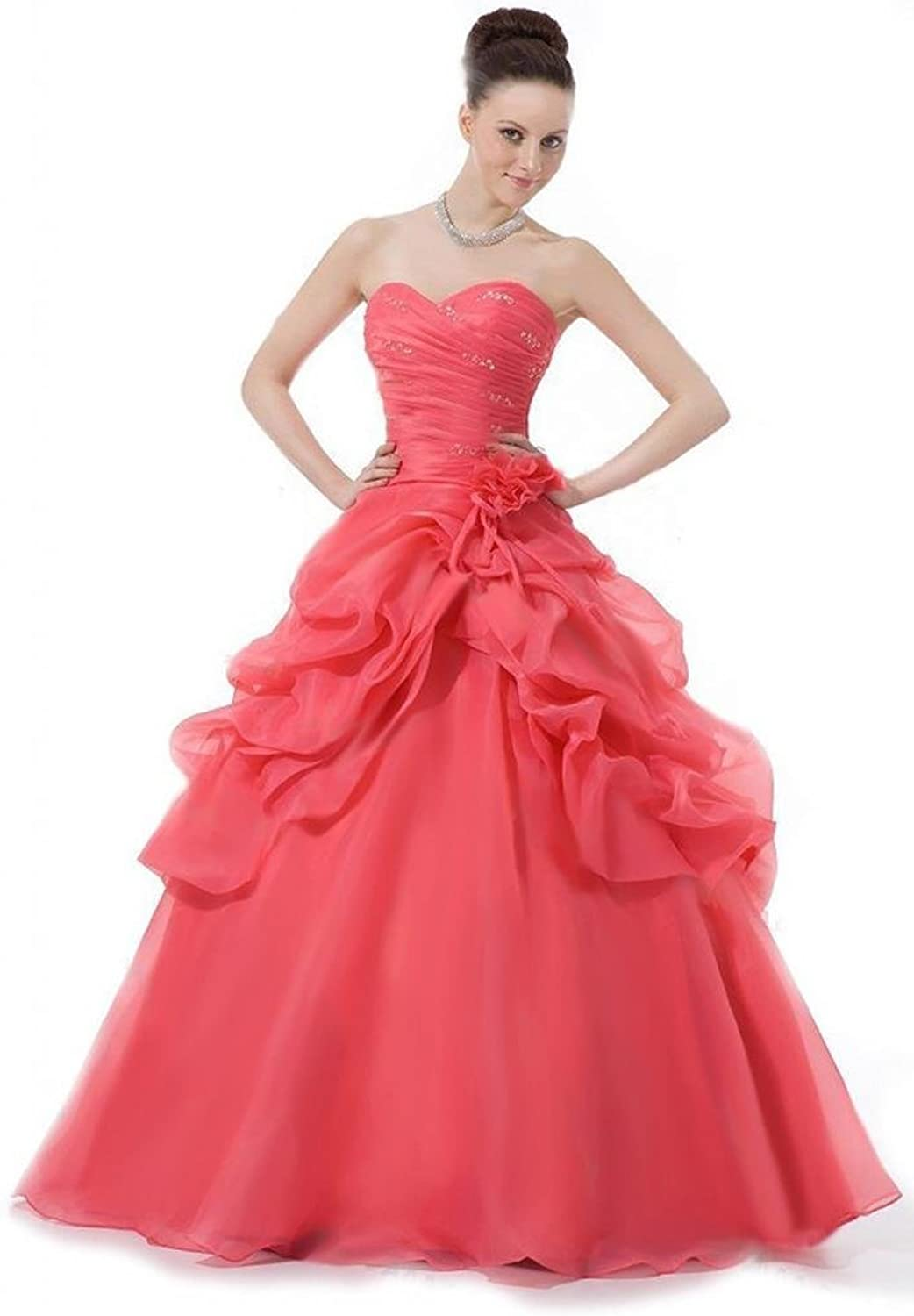 Dearta Women's ALine Sweetheart FloorLength Quinceanera Dresses
