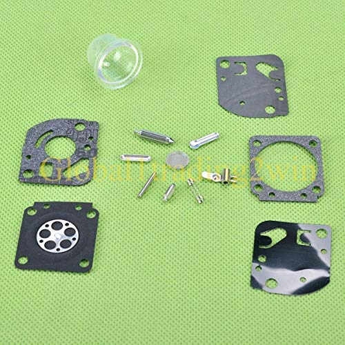 Piezas de repuesto para kit de reconstrucción de carburador Huq para Zama C1U-H61 C1U-H61A Homelite Soplador 985609001 Carbohidrato sustituye