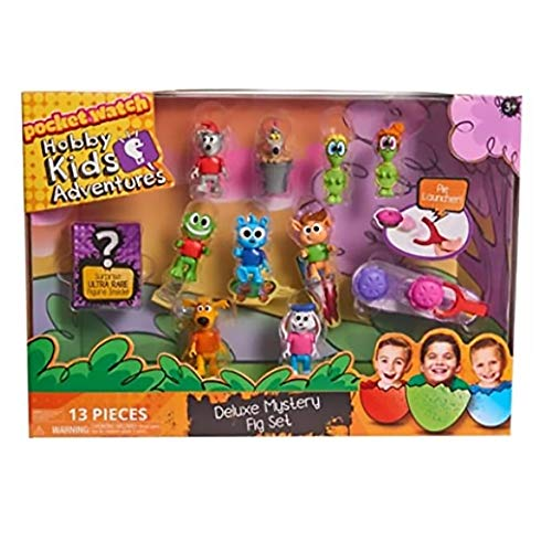 POG Kids Exclusive (Bonus Exclusive Porte ADRESSE ) HobbyKids Adventures Deluxe Set Mystery Figure 10-Pack [13 Pieces]