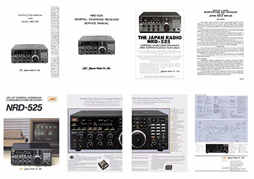 DOCUMENTATION Package/Service and Instruction Manuals for The JRC NRD-525 in A 3 Ring Binder