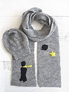 Set of Little Prince Scarf & Slouchy Beanie