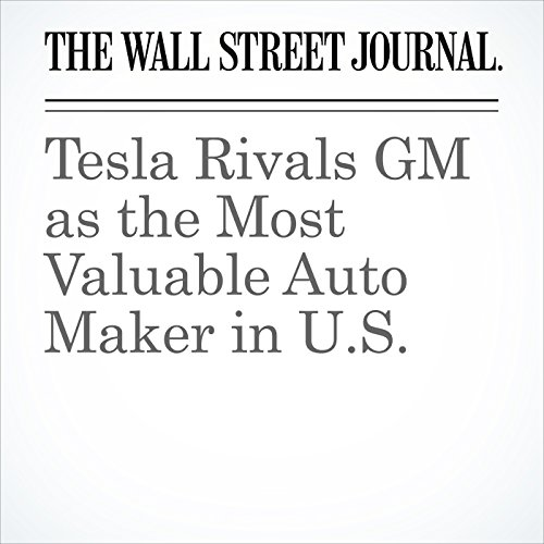Tesla Rivals GM as the Most Valuable Auto Maker in U.S. copertina