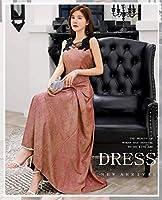 Aライン カクテルドレス カラー ドレス フォーマル パーティードレス マーメイド ミディアム ウェディング ドレス レディース aruka_agata 2XL グリーン