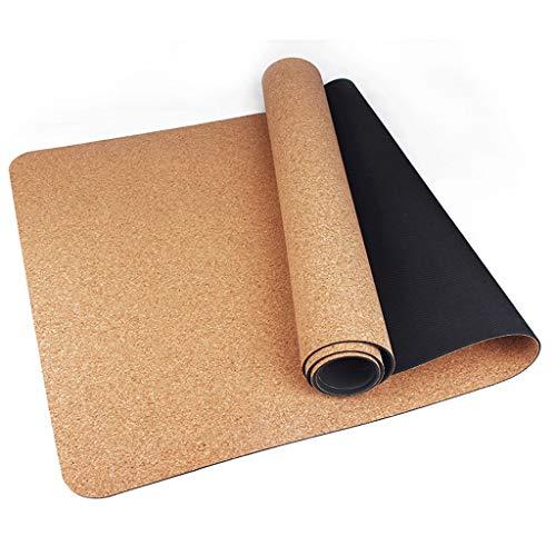 Esterilla de yoga para ejercicio femenina ensanchada y engrosada para principiantes, para yoga, manta alargada y antideslizante para el hogar (color: A, tamaño: 1850 x 660 x 4 mm)