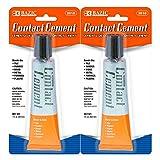BAZIC 1 Oz. (30mL) Contact Cement Adhesive, Glue Bonds Tile Rubber Wood Metal Formica Plas...