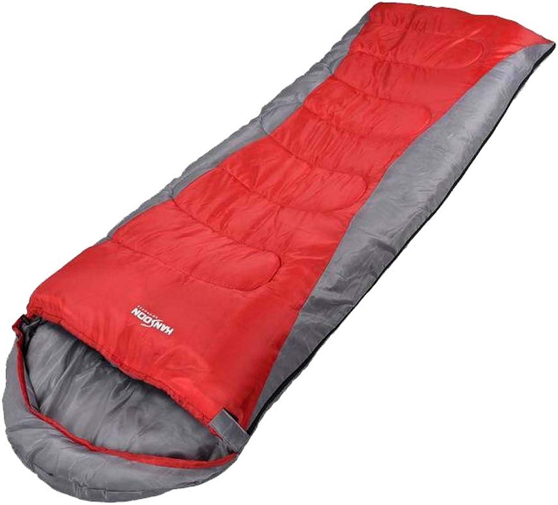 MISS&YG Adult-Schlafsack Vier Vier Vier Jahreszeiten Camping-extra große warme leichte Nähhüllen Schlafsack Kompressions-Kompressions-für das Wandern B07NKKM8B1  Im Freien 2b26c0