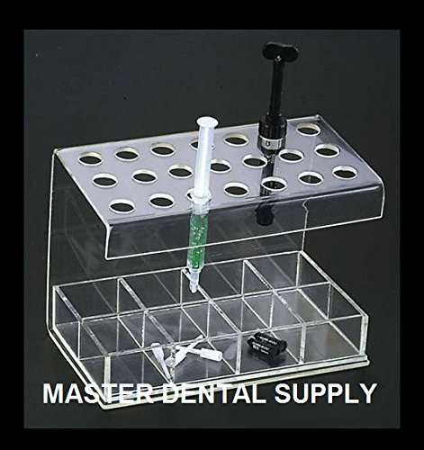 Composite Organizer and Accesories Holder. Holds 12 Composites Inlcudes 4 Comparmet Box for Accesories CLEAR LARGE Size