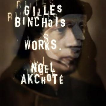 Binchois: Works (Arr. for Guitar)
