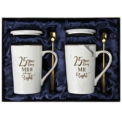 25th Wedding Anniversary Gifts , 25th Anniversary Gifts for couple,...