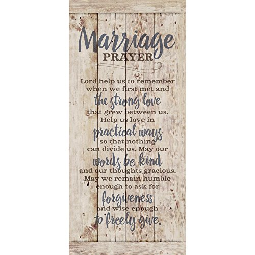 Marriage Prayer Wood Plaque Inspiring Quote