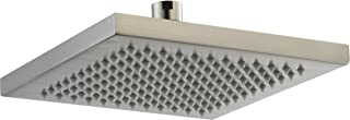 Delta Faucet Single-Spray Touch-Clean Rain Shower Head, Stainless RP53496SS
