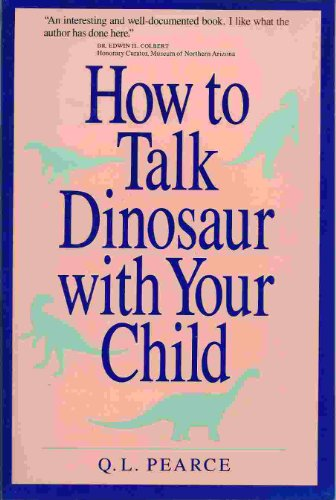 How to Talk Dinosaur With Your Child