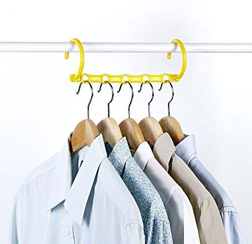 Provance 8er Set für 40 Bügel Raumsparbügel Kleiderbügel Kleiderhaken platzsparend